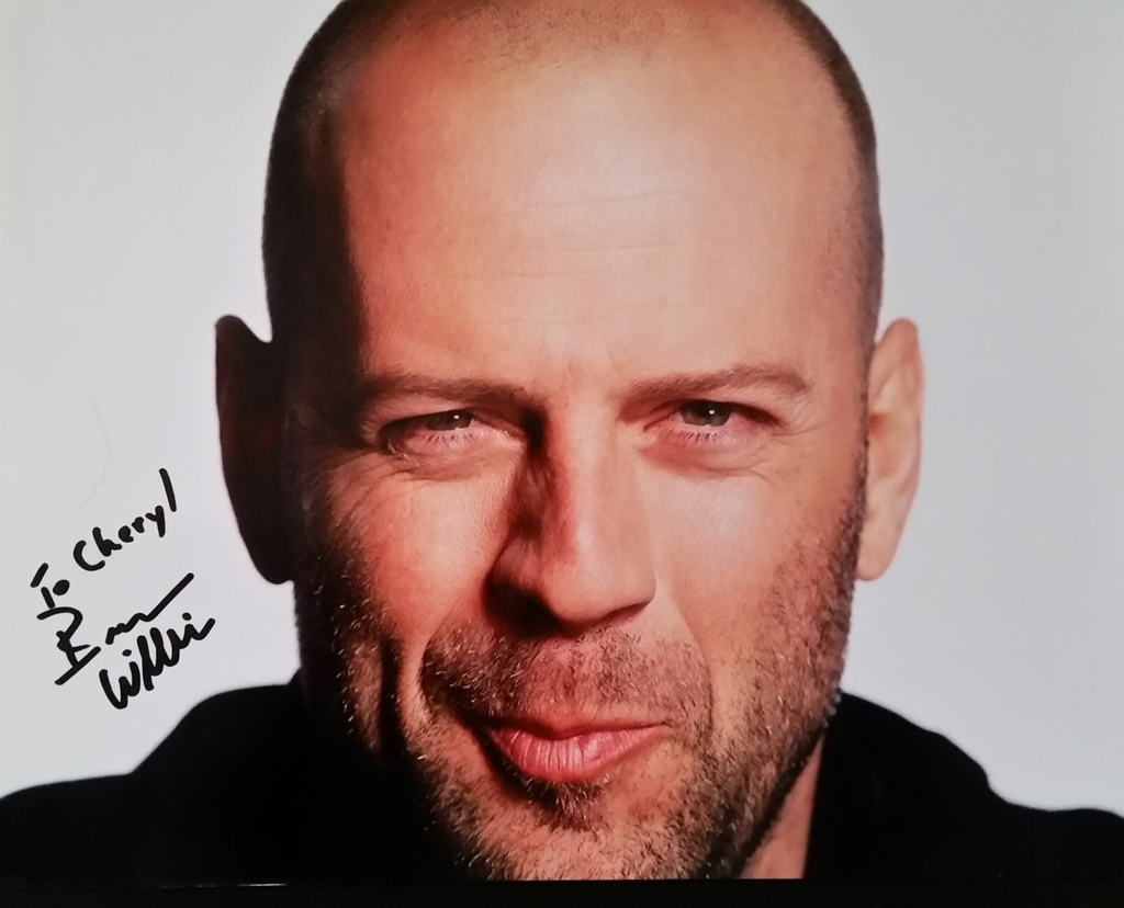 Bruce Willis - Celebrity Autograph Success Bruce Willis